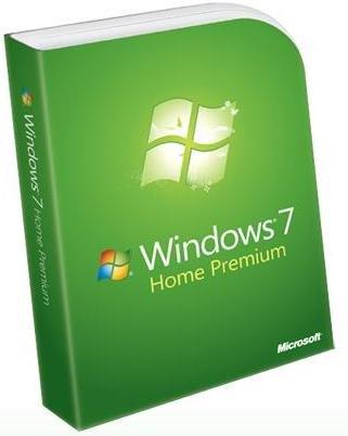 Ритейл упаковка операционной системы Windows 7 Home Premium (Домашняя расширенная)