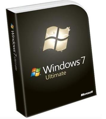 Ритейл упаковка операционной системы Windows 7 Ultimate (Максимальная)