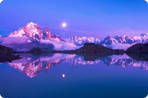 Обои из Windows 7 Франция - Aiguilles de Chamonix, Альпы